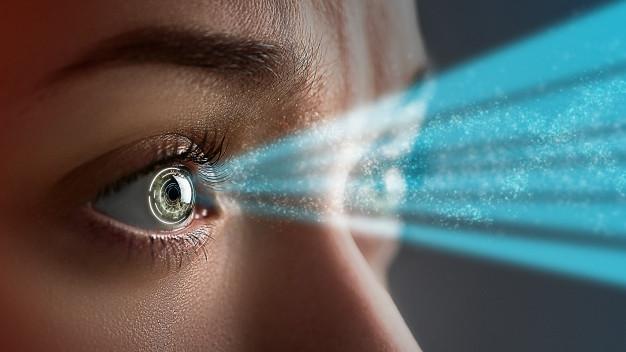 Lentes de contacto que protegen la visión frente a los efectos de dispositivos electrónicos